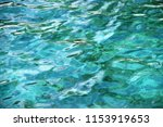 turquoise sea abstraction | Shutterstock . vector #1153919653
