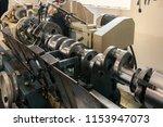 machining of engine parts ... | Shutterstock . vector #1153947073