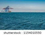 seaport odessa  ukraine   Shutterstock . vector #1154010550