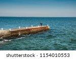 seaport odessa  ukraine   Shutterstock . vector #1154010553