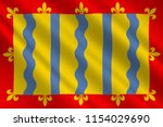 flag of cambridgeshire is a... | Shutterstock . vector #1154029690