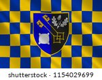 flag of surrey is a county in... | Shutterstock . vector #1154029699