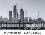 hudson yards  new york city ...   Shutterstock . vector #1154053699