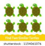 kids learning exercises. find... | Shutterstock .eps vector #1154061076