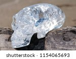 clear quartz carved  crystal... | Shutterstock . vector #1154065693
