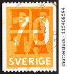 Sweden   Circa 1967  A Stamp...