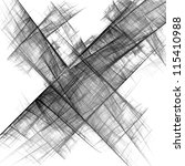 abstract black and white...   Shutterstock . vector #115410988