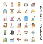 pack of industrial icons... | Shutterstock .eps vector #1154113453