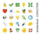 game flat icons  | Shutterstock .eps vector #1154117530