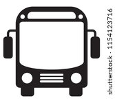bus icon vector | Shutterstock .eps vector #1154123716