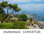 capri  italy   july 29  2018 ... | Shutterstock . vector #1154137120