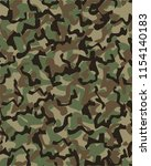 camouflage pattern background... | Shutterstock .eps vector #1154140183
