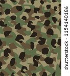 camouflage pattern background... | Shutterstock .eps vector #1154140186