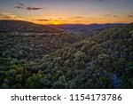west texas sunset over the hill ... | Shutterstock . vector #1154173786