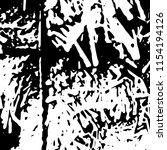 abstract monochrome grunge... | Shutterstock .eps vector #1154194126