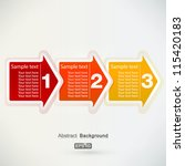 next step arrows | Shutterstock .eps vector #115420183