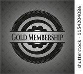 gold membership dark emblem.... | Shutterstock .eps vector #1154204086