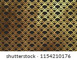 chinese traditional oriental... | Shutterstock .eps vector #1154210176