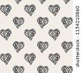 vector seamless pattern.... | Shutterstock .eps vector #1154210860