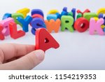 Letter Cubes Of Alphabet Made...