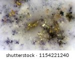 golden fractal sky  digital... | Shutterstock . vector #1154221240