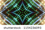 club party stage lights are... | Shutterstock . vector #1154236093