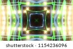 club party stage lights are... | Shutterstock . vector #1154236096