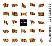 sri lanka flag  vector... | Shutterstock .eps vector #1154236933
