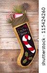 Handmade Christmas Stocking...