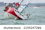 the solent  hampshire  uk  7th... | Shutterstock . vector #1154247286