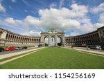 cinquantenaire park   parc du... | Shutterstock . vector #1154256169