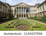 belgian federal parliament   Shutterstock . vector #1154257900