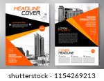 business brochure. flyer design.... | Shutterstock .eps vector #1154269213