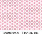 pink texture. symmetrical... | Shutterstock .eps vector #1154307103