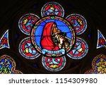 paris  france   january 09 ... | Shutterstock . vector #1154309980