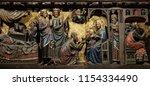 paris  france   january 10 ...   Shutterstock . vector #1154334490