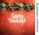 blurred background  happy... | Shutterstock . vector #1154335510