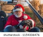 portrait of santa claus smiling ...   Shutterstock . vector #1154336476