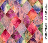 Watercolor Argyle Abstract Pink ...