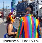 margate kent uk 08 11 18... | Shutterstock . vector #1154377123