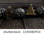 tin christmas toys. christmas...   Shutterstock . vector #1154382913