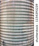 Corrugated Vintage Old Tin...