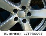 second hand alloy wheels in...   Shutterstock . vector #1154400073