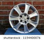 second hand alloy wheels in...   Shutterstock . vector #1154400076