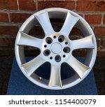 second hand alloy wheels in...   Shutterstock . vector #1154400079