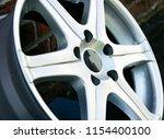 second hand alloy wheels in...   Shutterstock . vector #1154400100