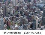 aerial view of buildings in... | Shutterstock . vector #1154407366
