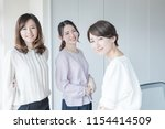 Group Of Asian Woman In The...