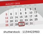 calendar planner for the month  ... | Shutterstock . vector #1154423983