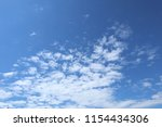blue sky  clouds. cloudscape. | Shutterstock . vector #1154434306
